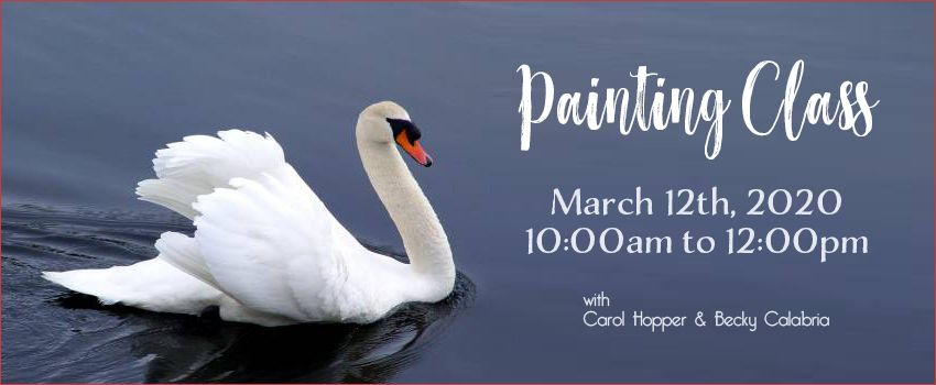 Painting Class Spring Break - March 12, 2020