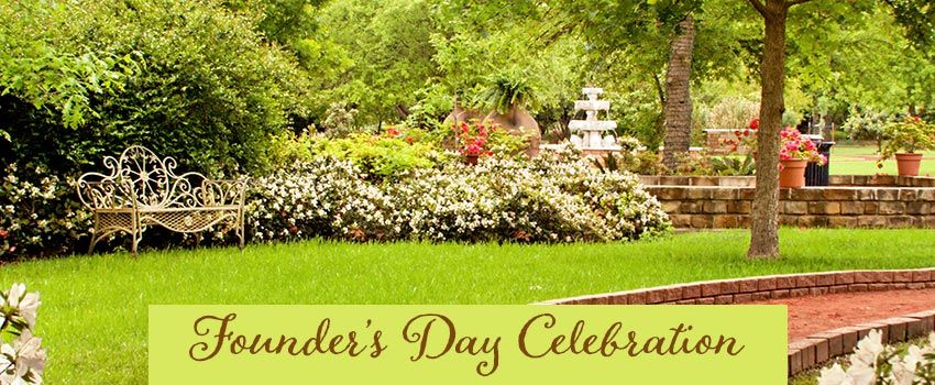 Founder's Day Celebration at Clark Gardens